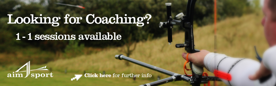 aim4sport 1 to 1 archery coaching